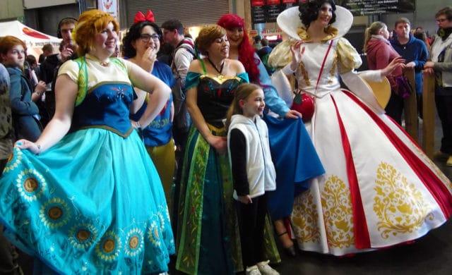 Geek Days Cosplay Princesses Disney