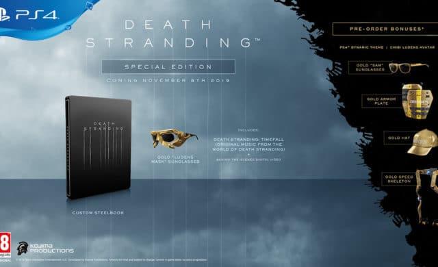 Death Stranding édition spéciale