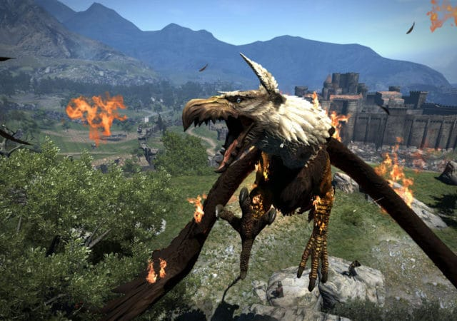 Dragon's Dogma: Dark Arisen griffon