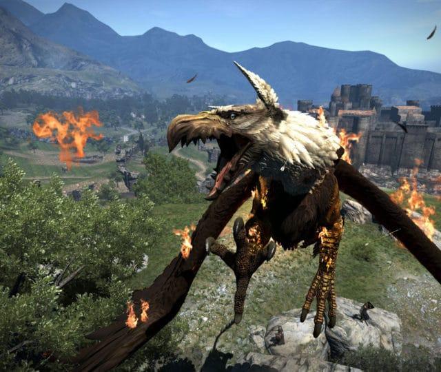Dragon's Dogma: Dark Arisen griffon