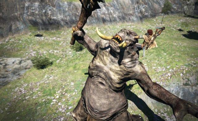 Dragon's Dogma: Dark Arisen combat cyclope