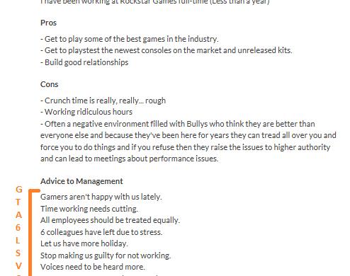 Rockstar GTA 6 leak info developpeur.