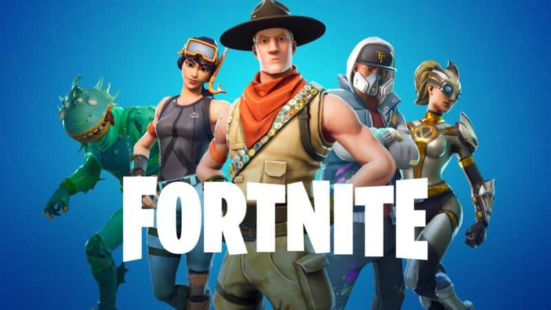 Affiche Fortnite par Epic Games