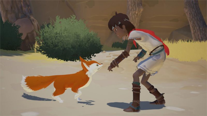 L'enfant et le renard dans Rime epic games