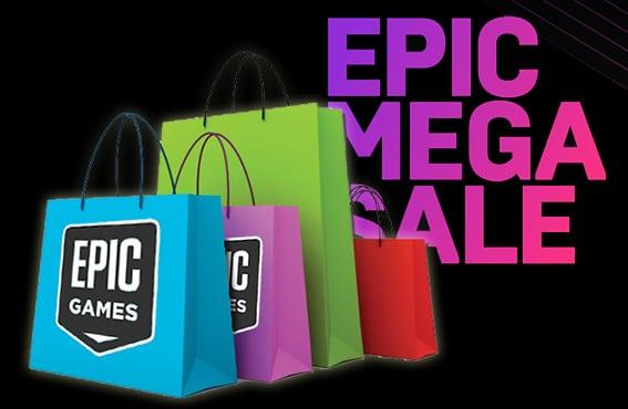 Epic Mega Sale soldes Epic Games