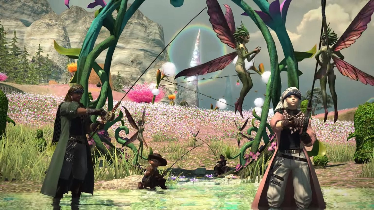 Final Fantasy XIV Shadowbringers - benchmark vidéo