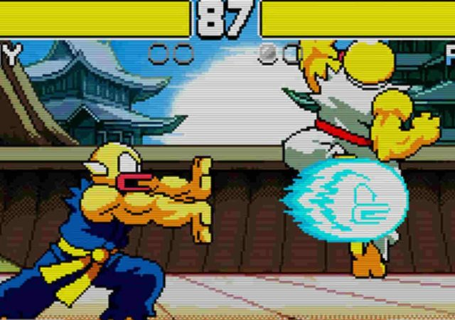 Flappy Fighter hadouken combat