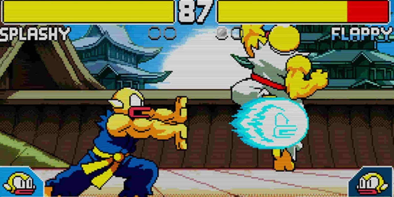 Flappy Fighter hadouken combat