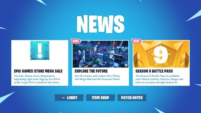 Epic Games Store Soldes info news Fortnite