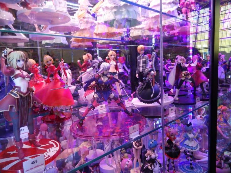 Geek Days 2019 vitrine figurines
