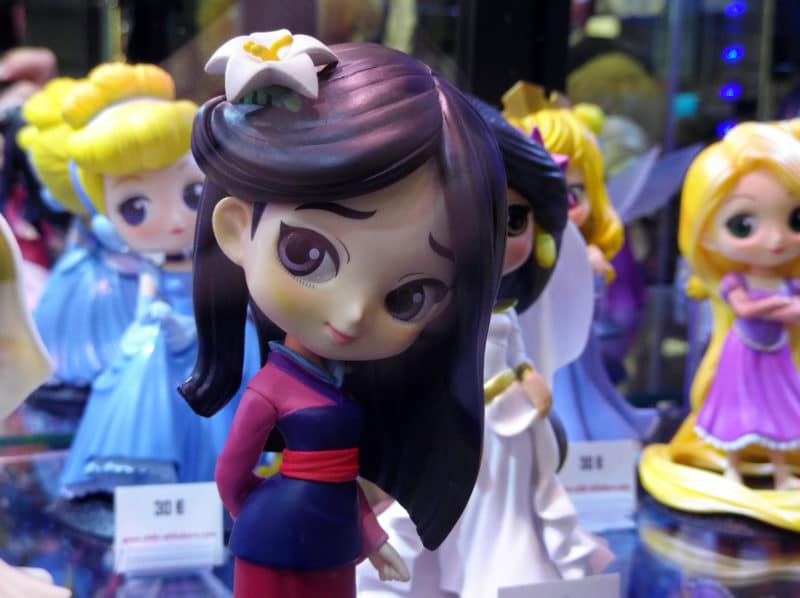 Geek Days 2019 figurine Mulan