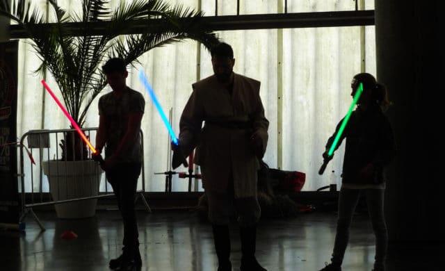 Geek Days 2019 Jedi Sabre laser