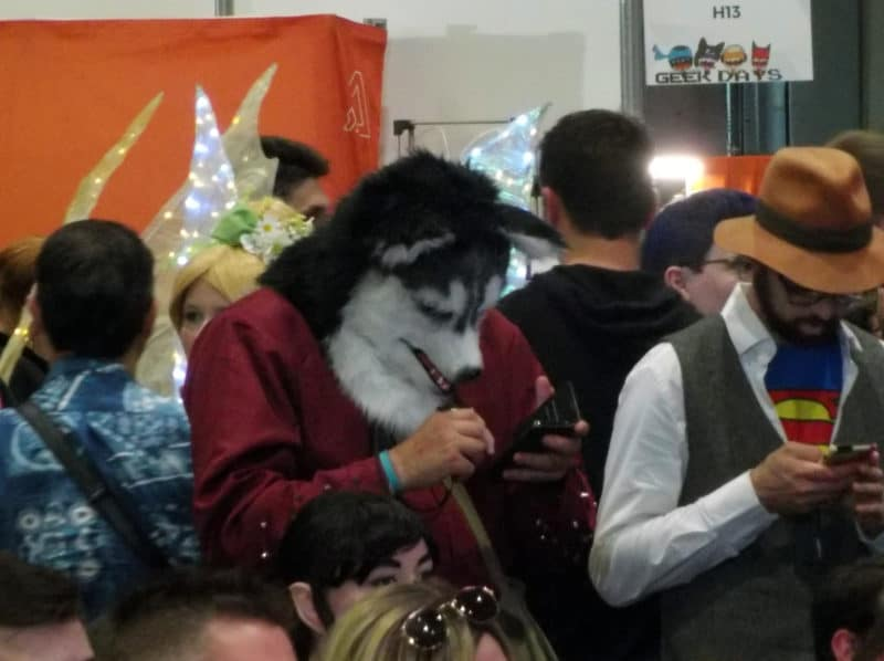 Geek Days 2019 Cosplay Loup