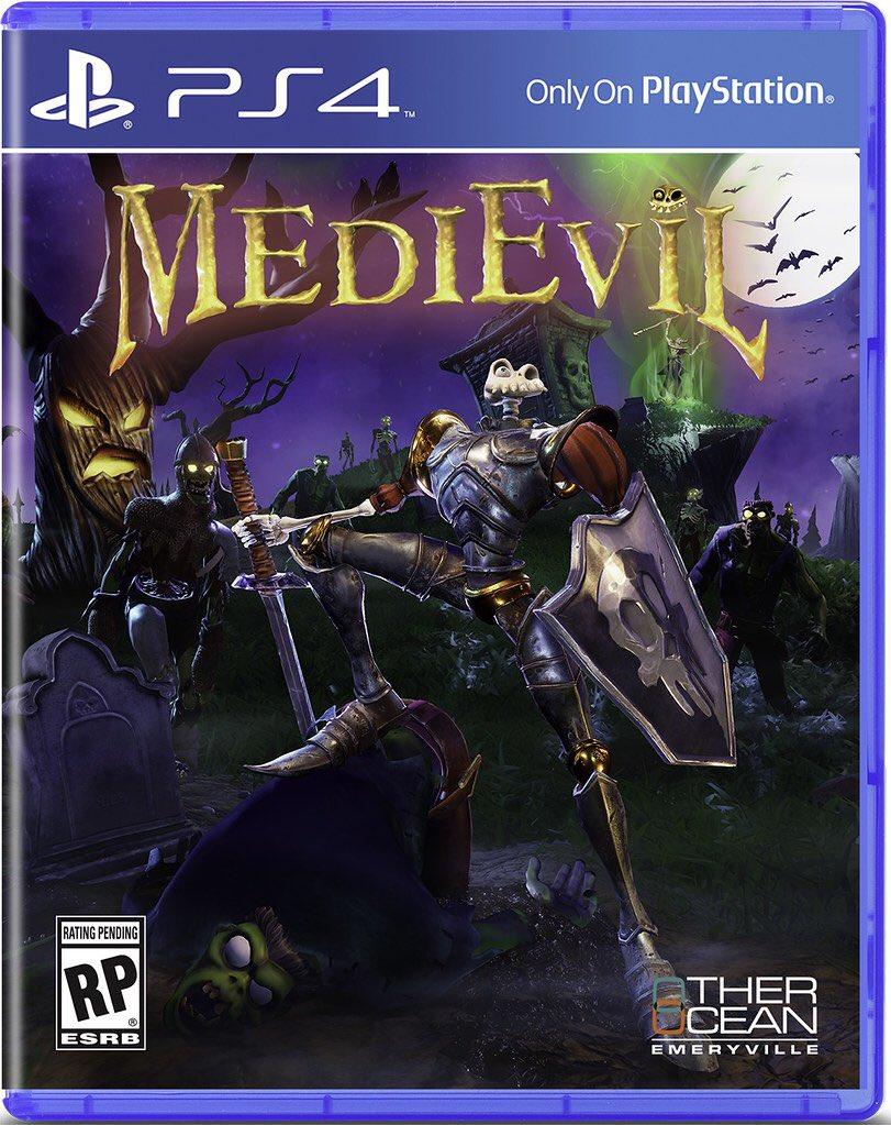 MediEvil jaquette PS4