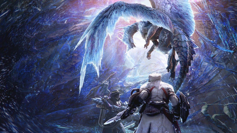 Monster Hunter World Iceborn Artwork