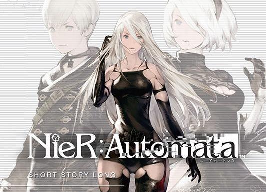 NieR: Automata Short Story Long illustration de couverture et titre