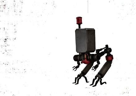 NieR: Automata Short Story long Illustration Pod