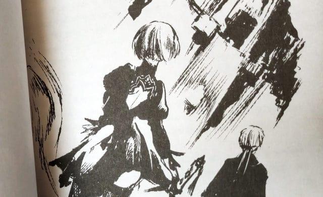 NieR: Automata Short Story Long Illustration intérieure 2B et 9S