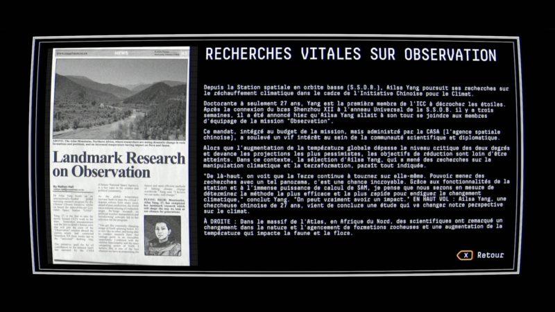Observation background 1