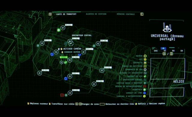 Observation map