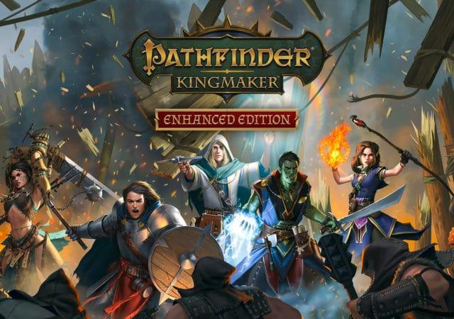 Affiche lancement Pathfinder kingmaker enhanced edition