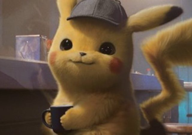 Détective Pikachu café casquette