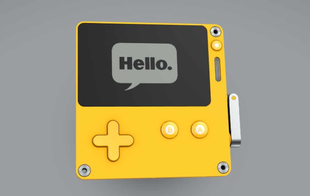 playdate design gris