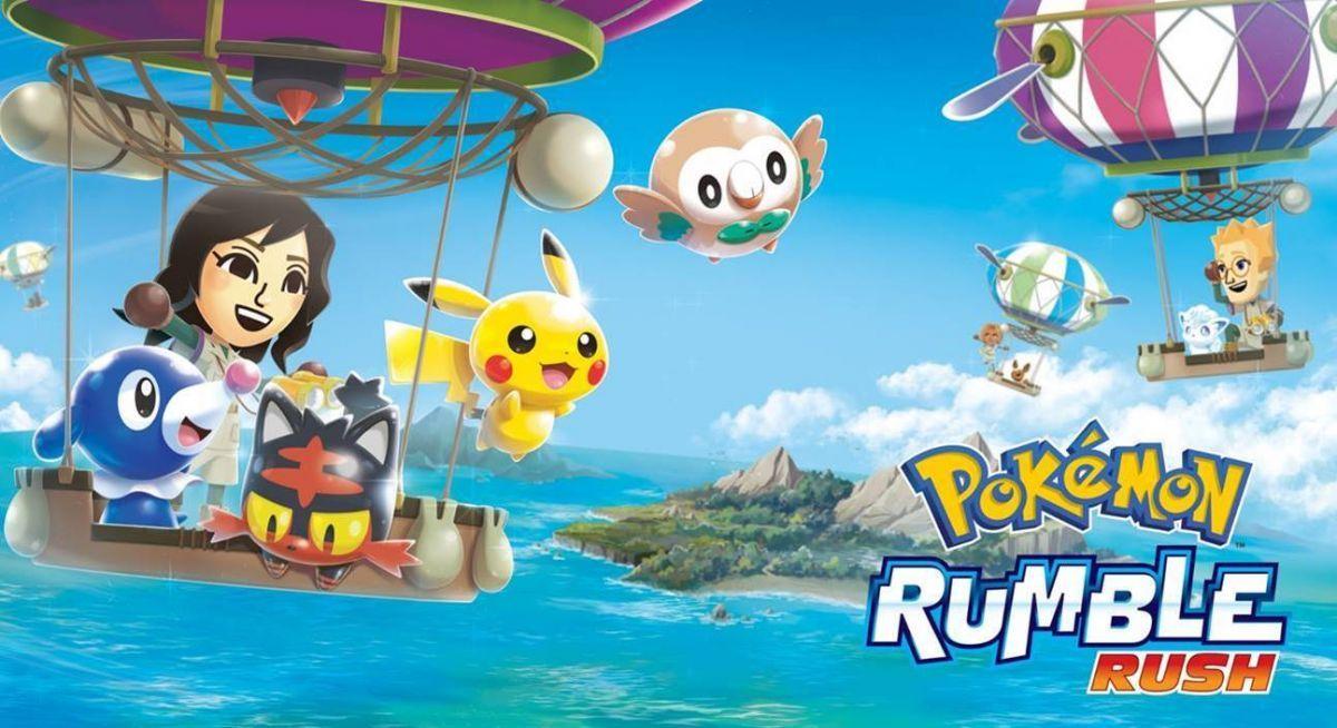 Pokémon Rumble Rush - Titre