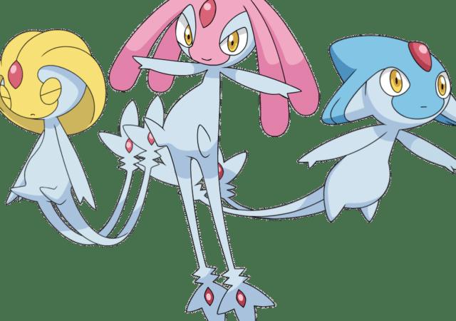 Pokémon GO - Trio du lac
