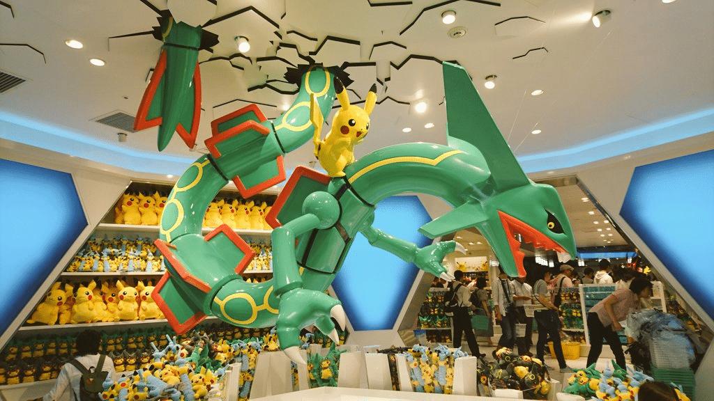 Pokemon center peluches pokémon japon