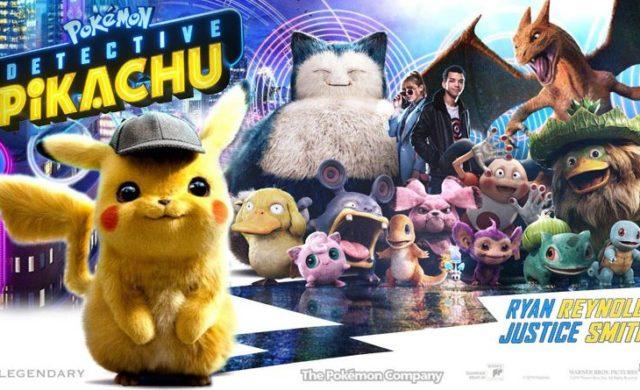 Pokémon Détective Pikachu affiche casting complet