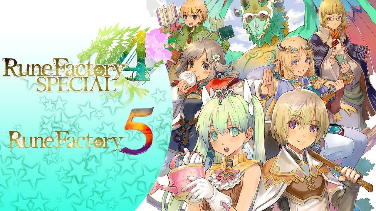 Rune Factory 5 - entête Direct Fevrier