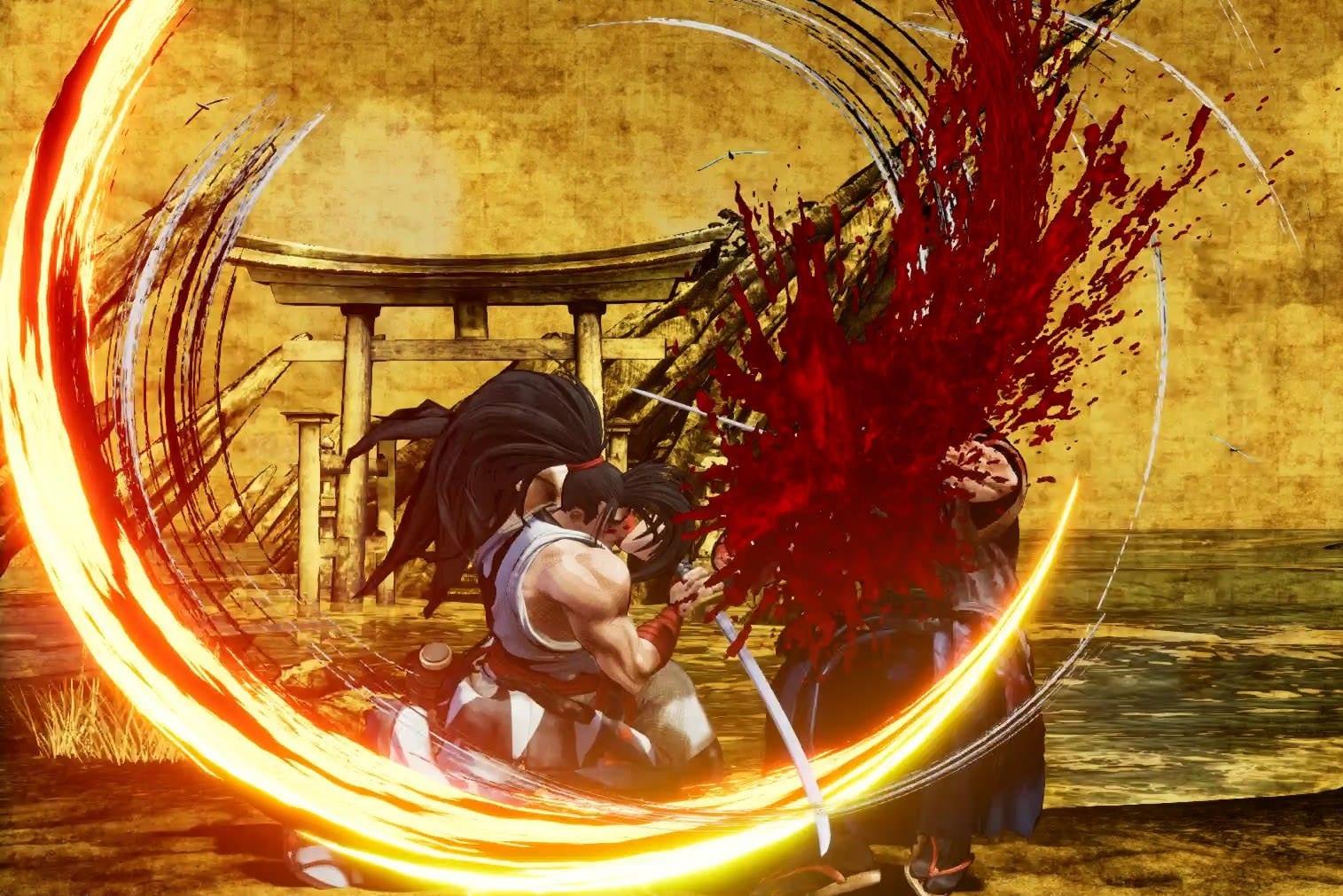 Samurai Shodown effusion de sang