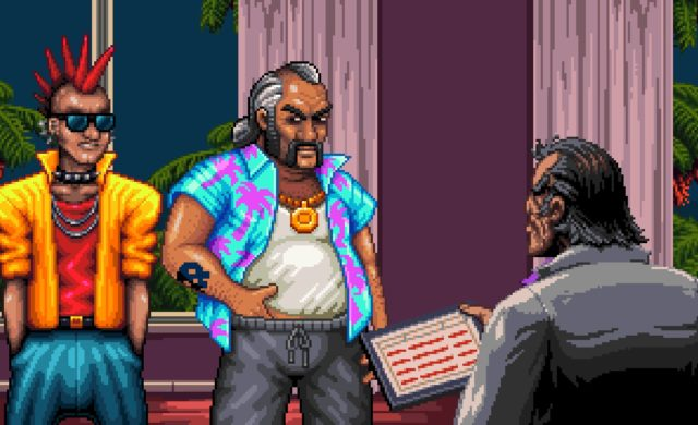 Shakedown: Hawaii les 3 personnages