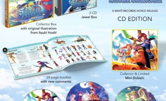 Skies of Arcadia CD Edition - détails