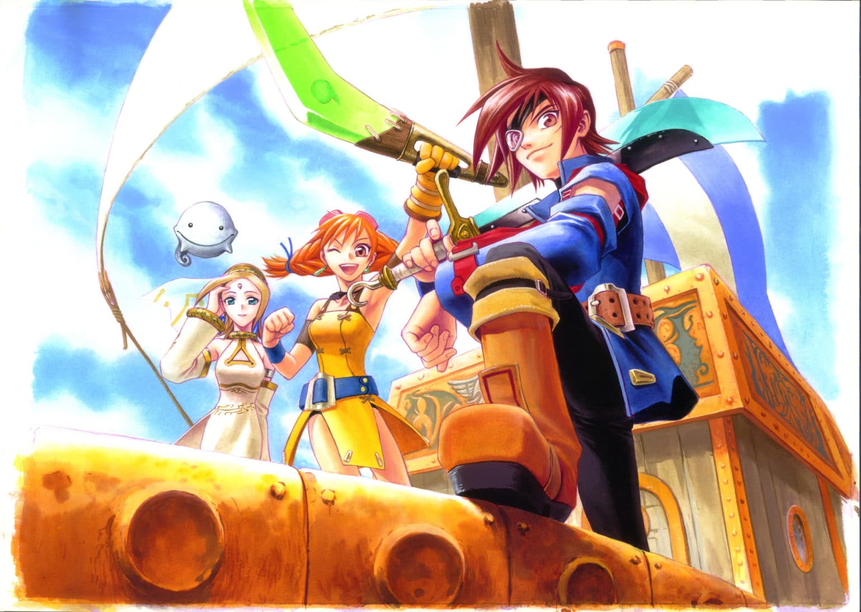 Skies of Arcadia - illustration