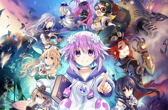 Super Neptunia RPG Box Art détail
