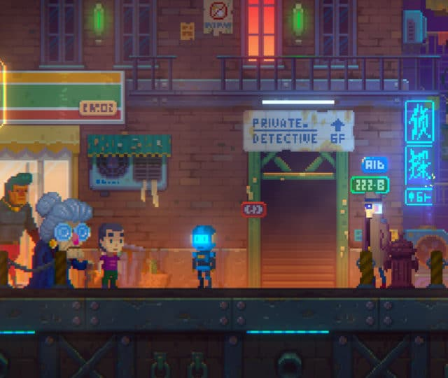 Tales of the neon sea rue bureau détective