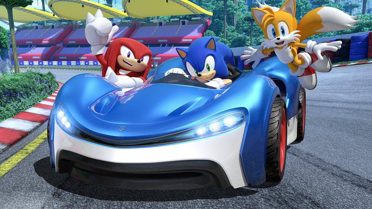 Team Sonic Racing - Sonic, Tails et Knuckles partent en boîte