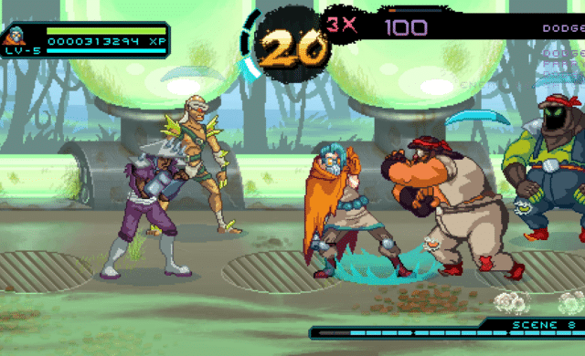 Way of the Passive Fist esquive