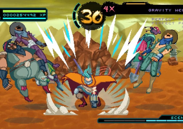 Way of the Passive Fist attaque au sol