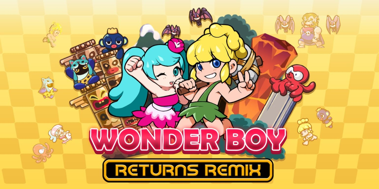 Wonder Boy Returns Remix - 01