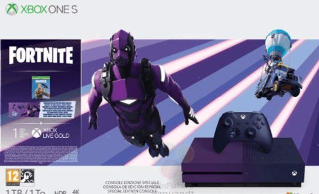 Leaks Xbox one S Fortnite