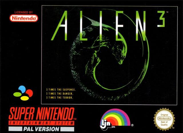 alien 3 jaquette super nes