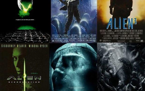 saga alien affiches