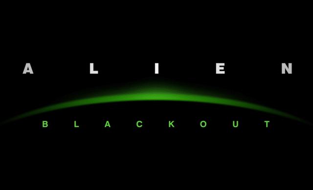 alien blackout poster