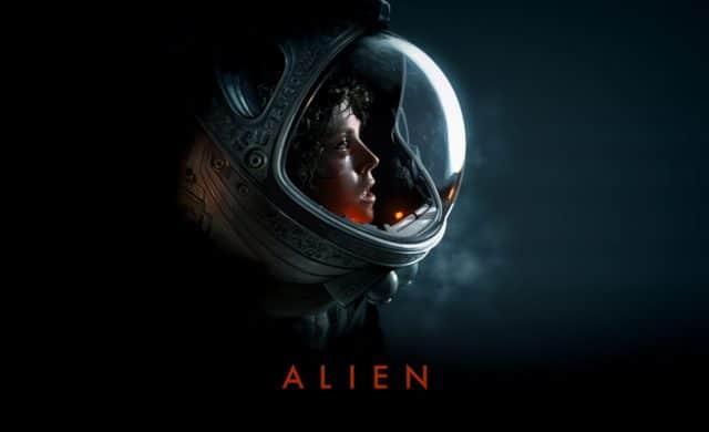 Alien fan poster