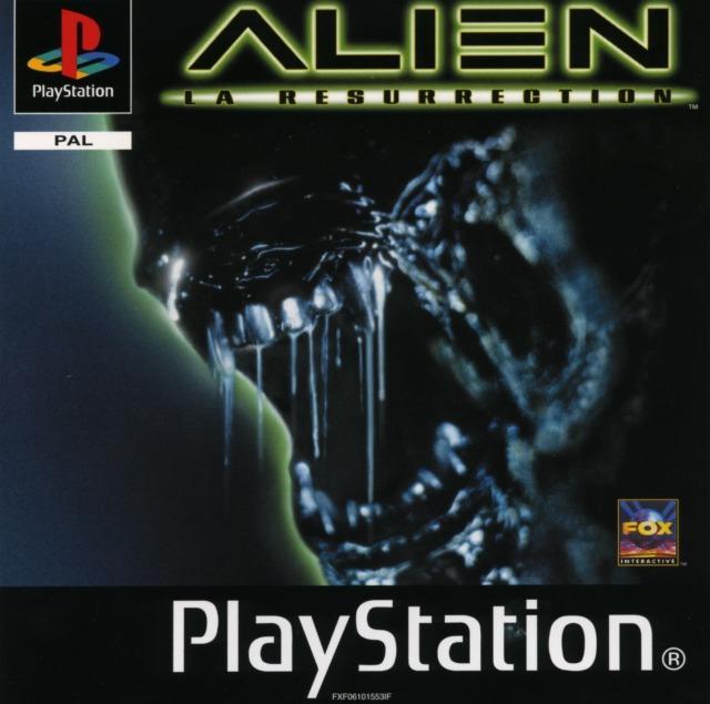 Alien La Résurrection jaquette