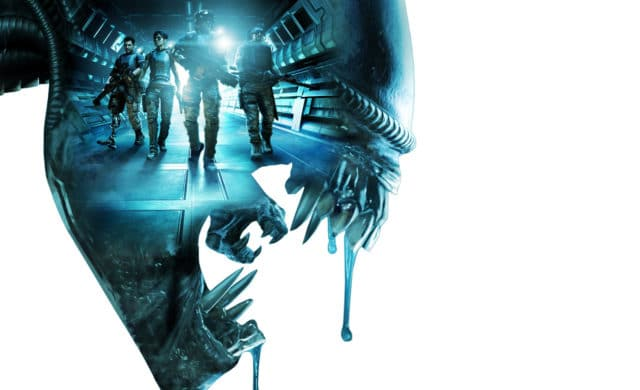 aliens colonial marines poster