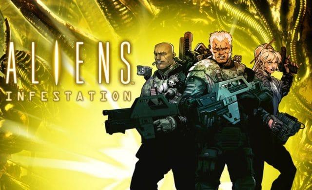 aliens infestation poster
